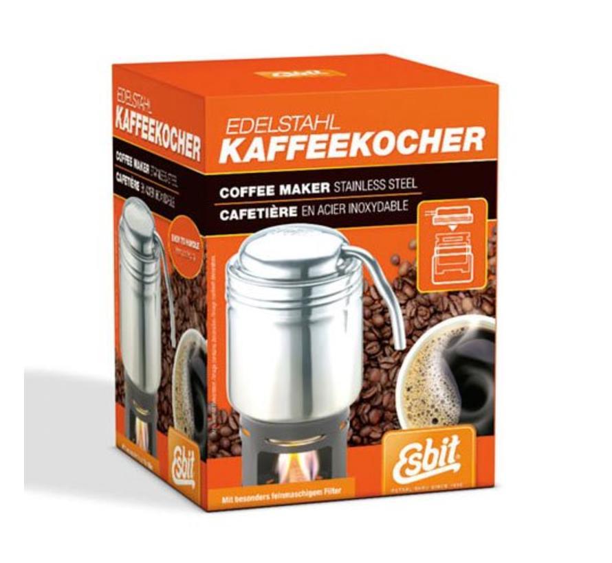 Esbit Koffiemaker (RVS met onderstel voor esbitblokjes)
