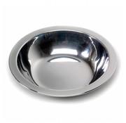 RVS eetbord diep (Ø 20,5 cm)