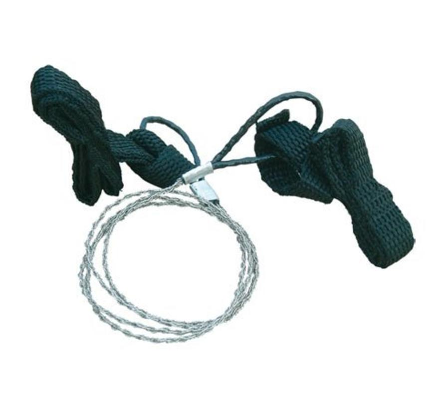 Bushcraft Luxe Lichtgewicht Draadzaag (Commando Lightweight Wire Saw)