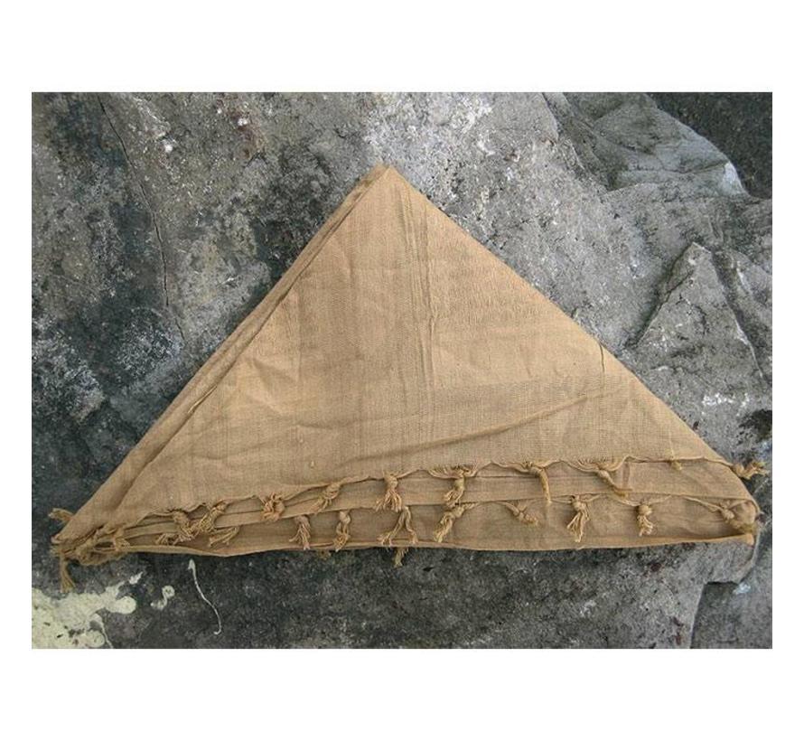 Bushcraft Shemagh hoofddoek (Zandkleur)