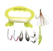 BCB Bushcraft Fishing Kit (visset met o.a. vislijn, vishaakjes en lood)