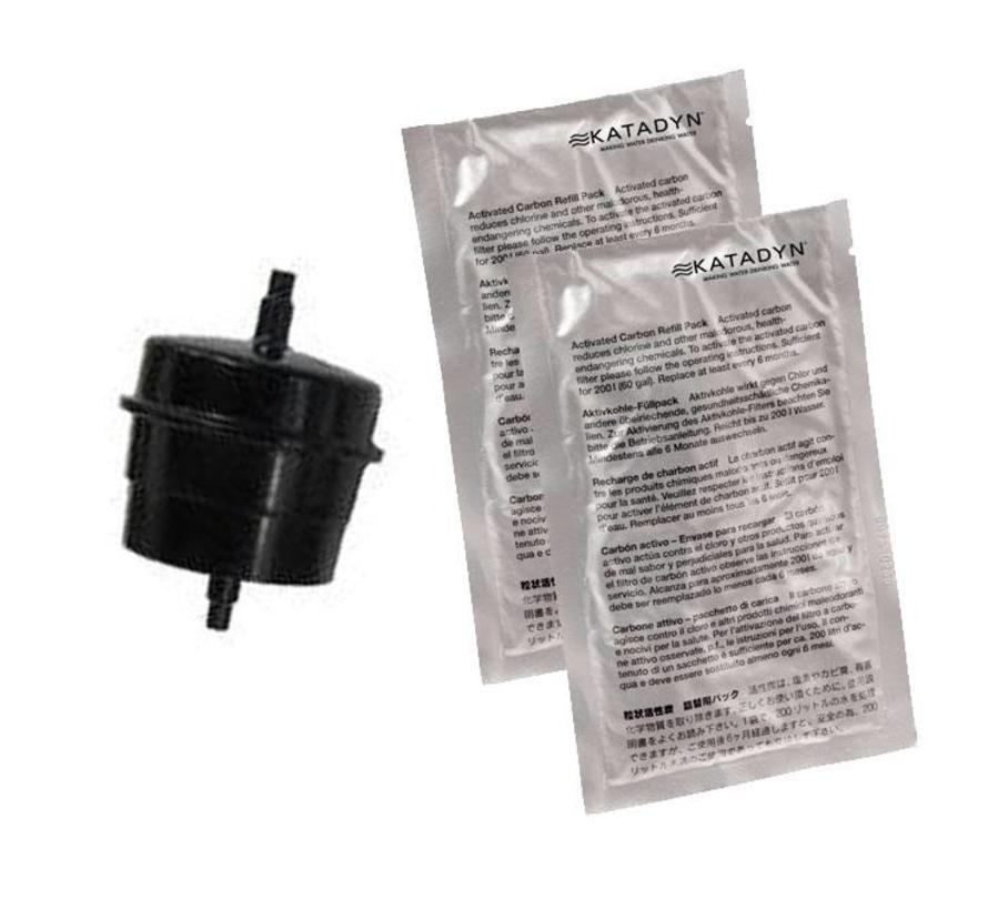 Katadyn Carbon Cartridge (fles-adapter met actief-kool)