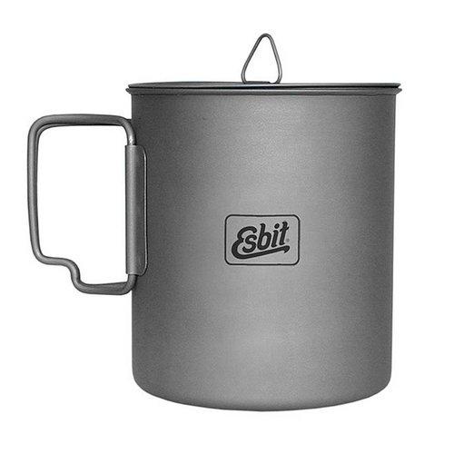 Esbit Esbit Titanium Pot PT750-TI (pannetje 750ml + deksel)