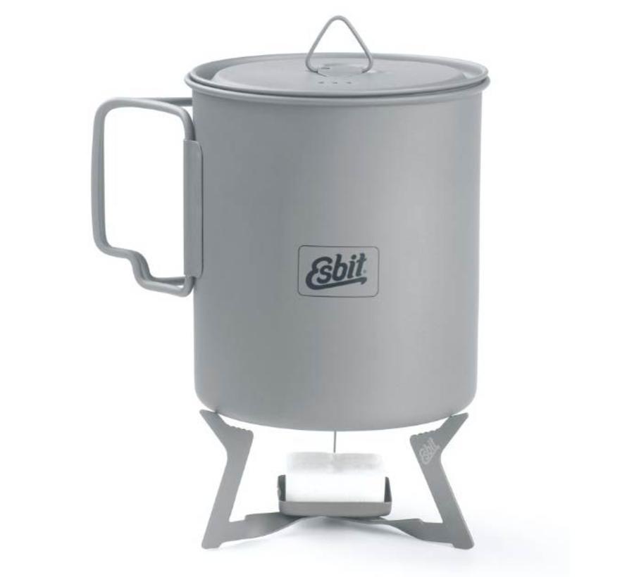 Esbit Titanium Pot PT750-TI (pannetje 750ml + deksel)