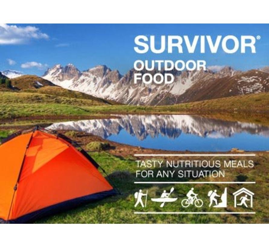 Survivor Aardappel-Groentestoofpot met Rundvlees (2-porties)