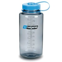 Nalgene 1,0 liter wijdhals waterfles Everyday (grijs)