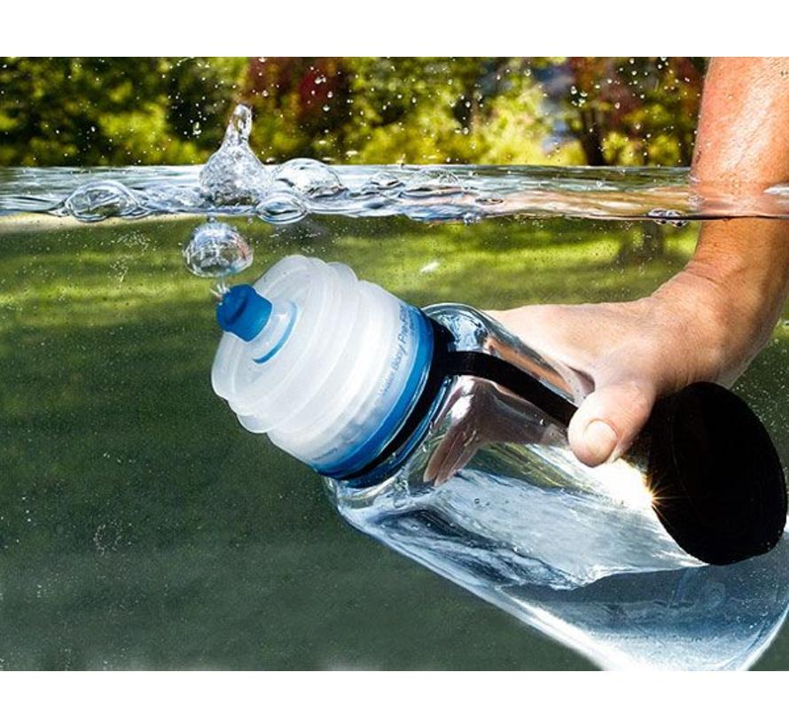 Nalgene wijdhals waterfles Everyday (1 liter - grijs)