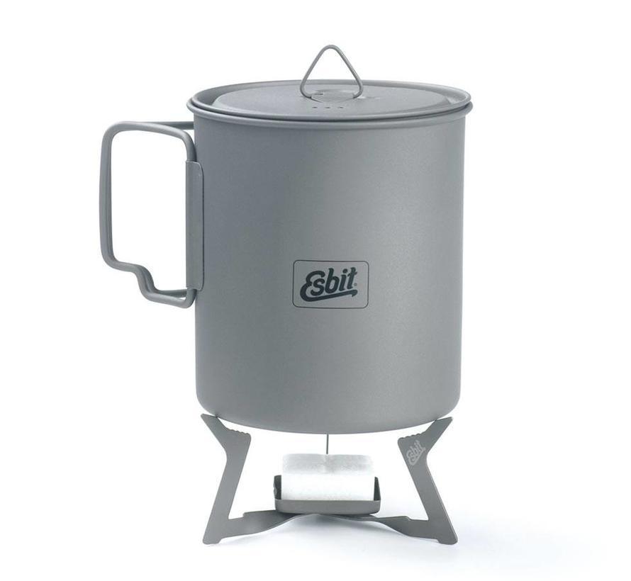 Esbit Titanium kooktoestelletje voor Esbitblokjes