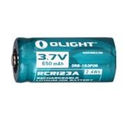 Olight Olight RCR123A oplaadbare Lithium-Ion batterij (3.7V 650mAh)