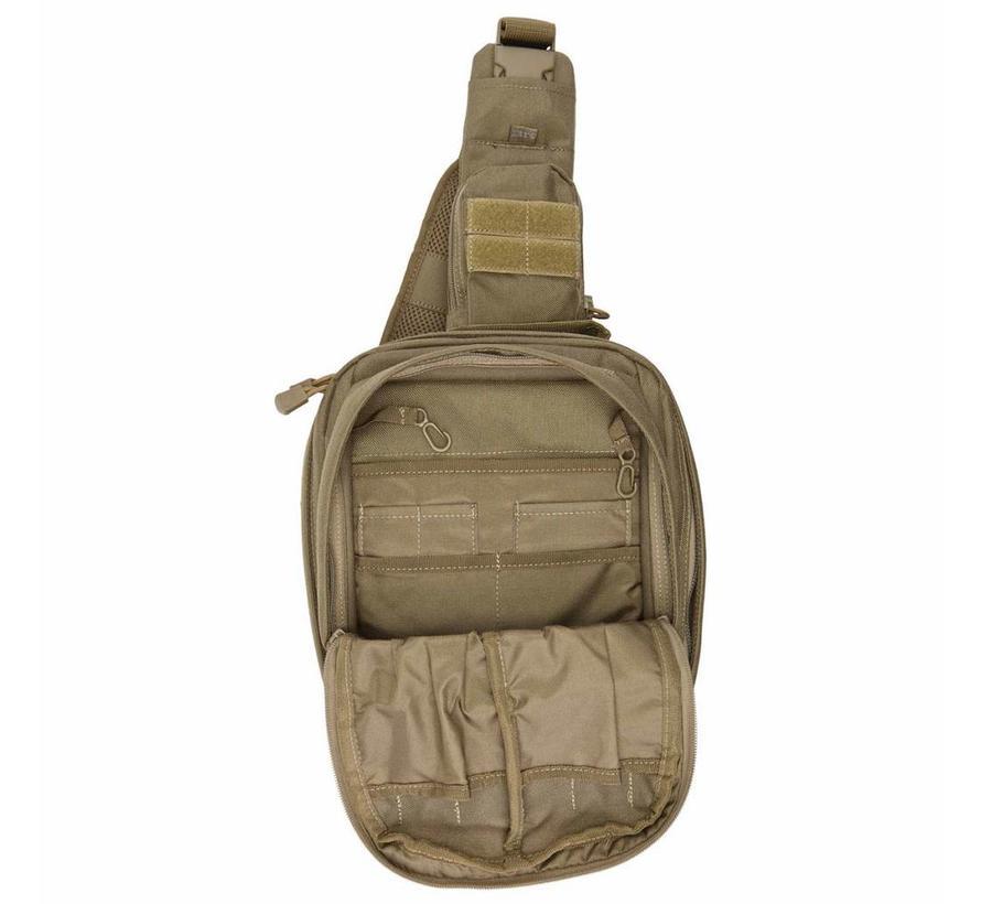 5.11 Tactical RUSH MOAB 6 Slingpack (11 liter - zwart)