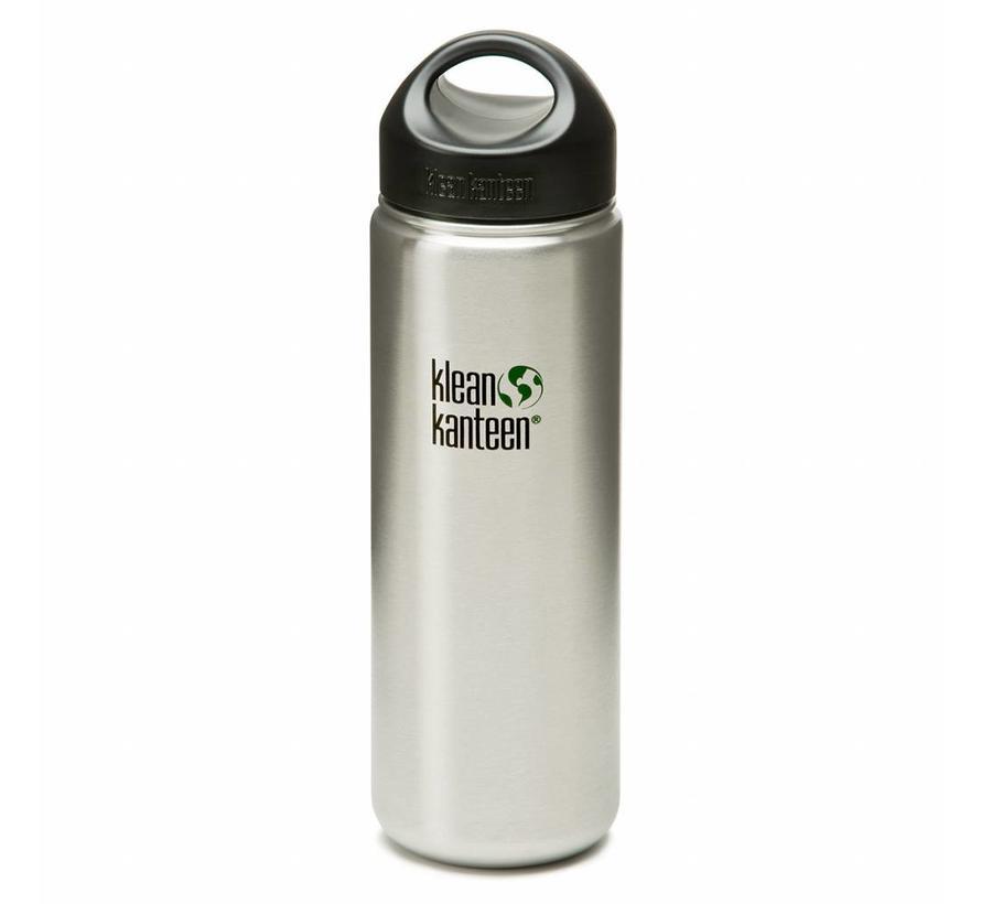 Klean Kanteen 800ml / 27oz wijdhalsfles (RVS drinkfles)