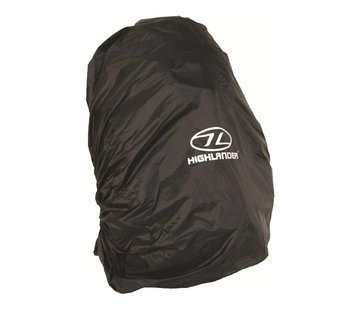 Highlander Outdoor Rugzak-regenhoes 20-30 liter Small (zwart)