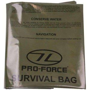 Highlander Outdoor Emergency Survival Bivi Bag (1-persoons legergroene overlevingszak)