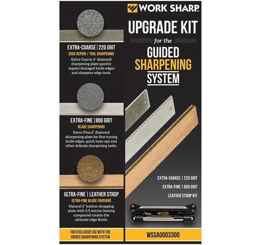 Work Sharp Guided Sharpening System + Upgrade Kit (voordeelbundel)