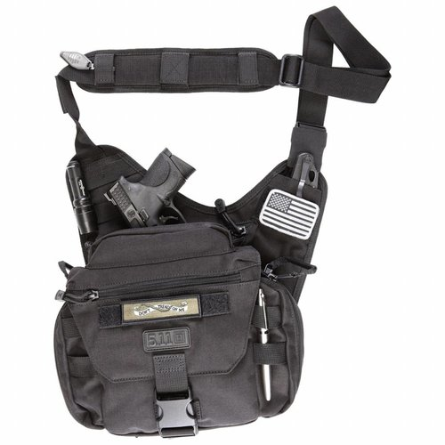 5.11 Tactical 5.11 Tactical Push Pack (zwart)