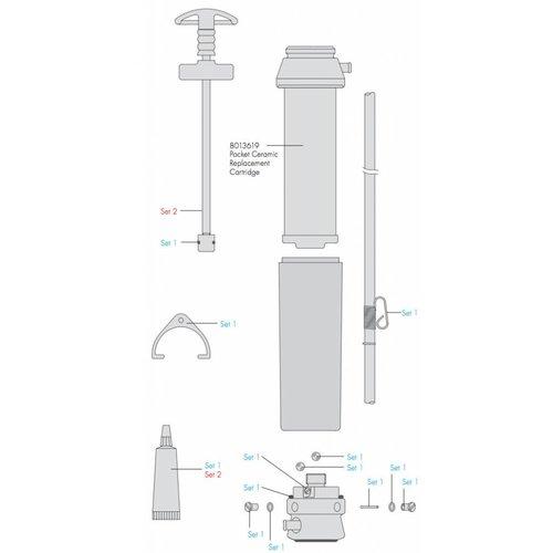 Katadyn Katadyn Pocket Onderhoudskit (SET 1 - 20648)
