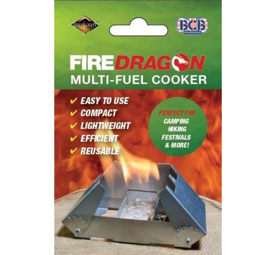 Firedragon Brander (met windscherm)