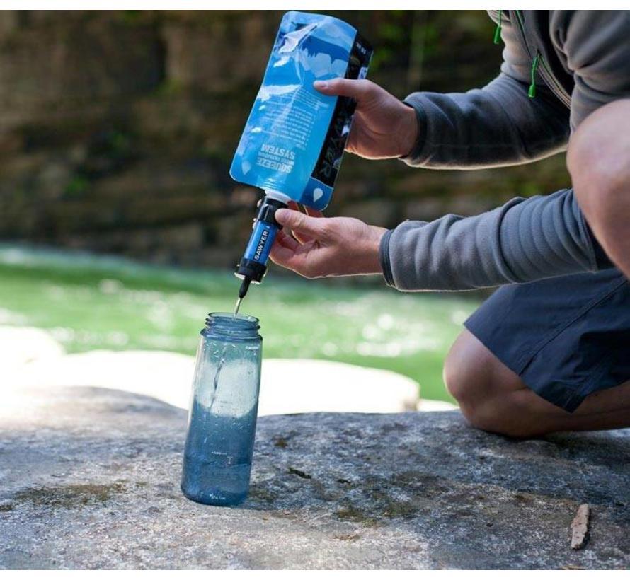 Sawyer 1 liter knijpwaterzakken (3 stuks SP113 Squeeze Pouches)