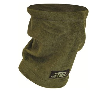 Highlander Outdoor Highlander Polar Fleece Nekwarmer (Olive green)
