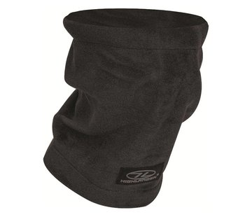 Highlander Outdoor Highlander Polar Fleece Nekwarmer (zwart)