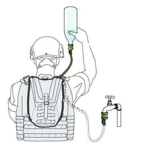 Source Outdoor & Tactical Gear Source WXP 3L waterzak-kit (drinksysteem inclusief UTA)