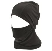 Highlander Outdoor Highlander Thermal Fleece Face Mask (zwart)
