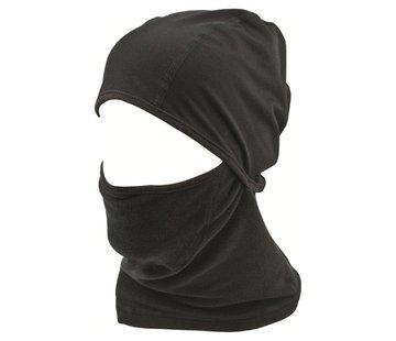 Highlander Outdoor Highlander Thermal Fleece Face Mask (zwart)