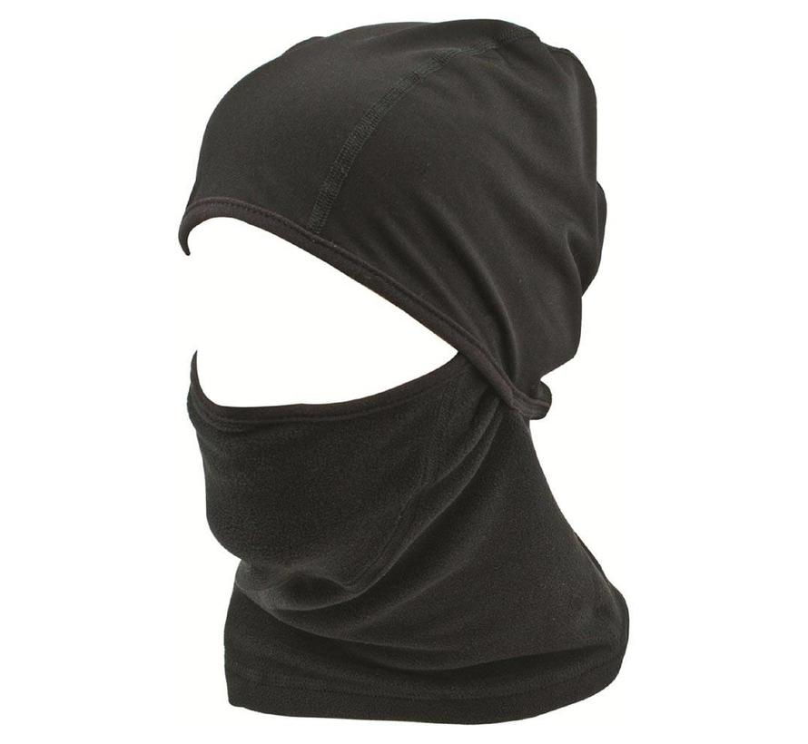 Highlander Thermal Fleece Face Mask (zwart)