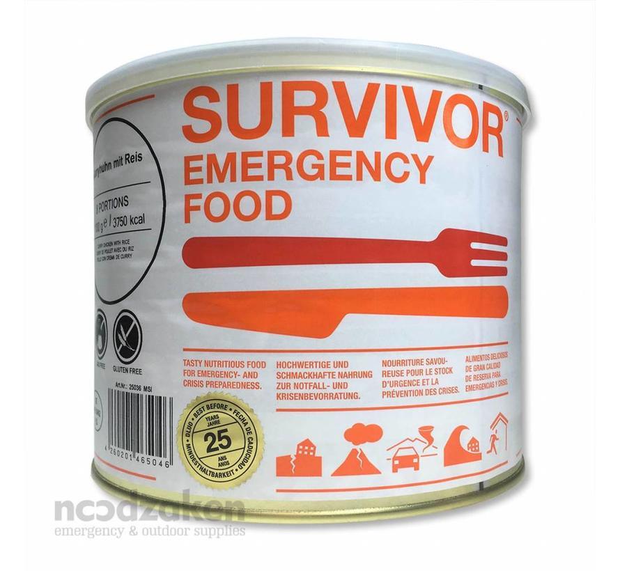 Survivor Beef Stroganoff met rijst (blik 875 gram)