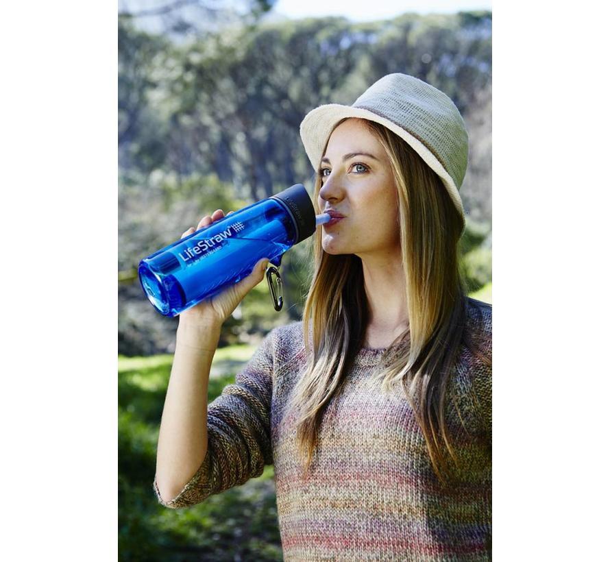 Lifestraw Go 2-Stage met Carbon Capsule (drinkfles met waterfilter)