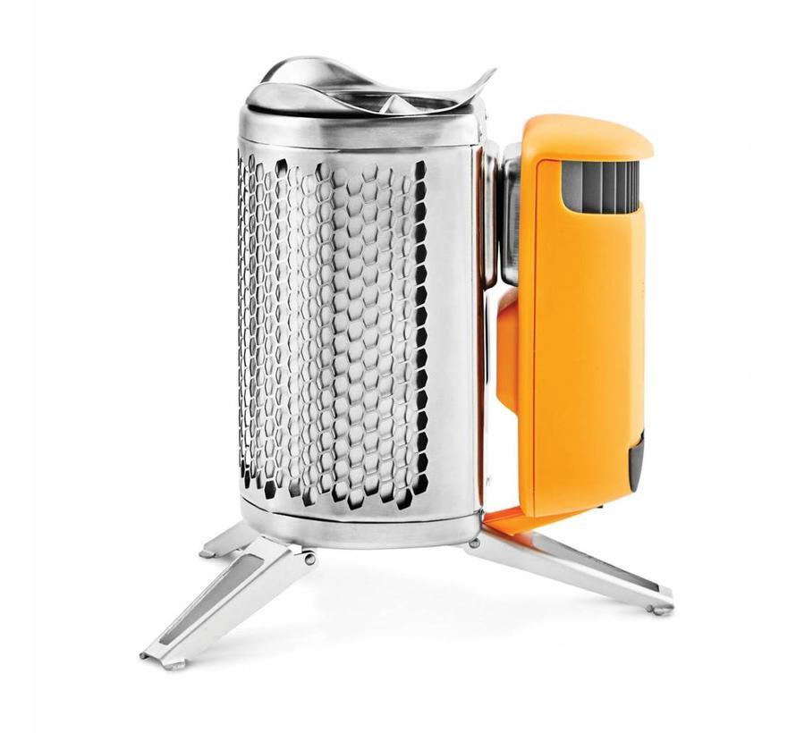 BioLite CampStove 2 Bundle (met Portable Grill, KettlePot en FlexLight)