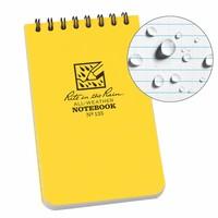 Rite in the Rain All-Weather Notebook No. 135 Geel (notitieblokje)