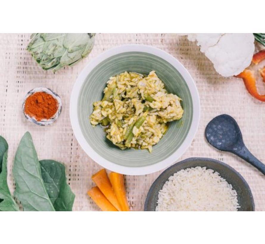 Forestia Self Heating maaltijd Mediterranean Vegetable Rice Stew (met warmtezak)