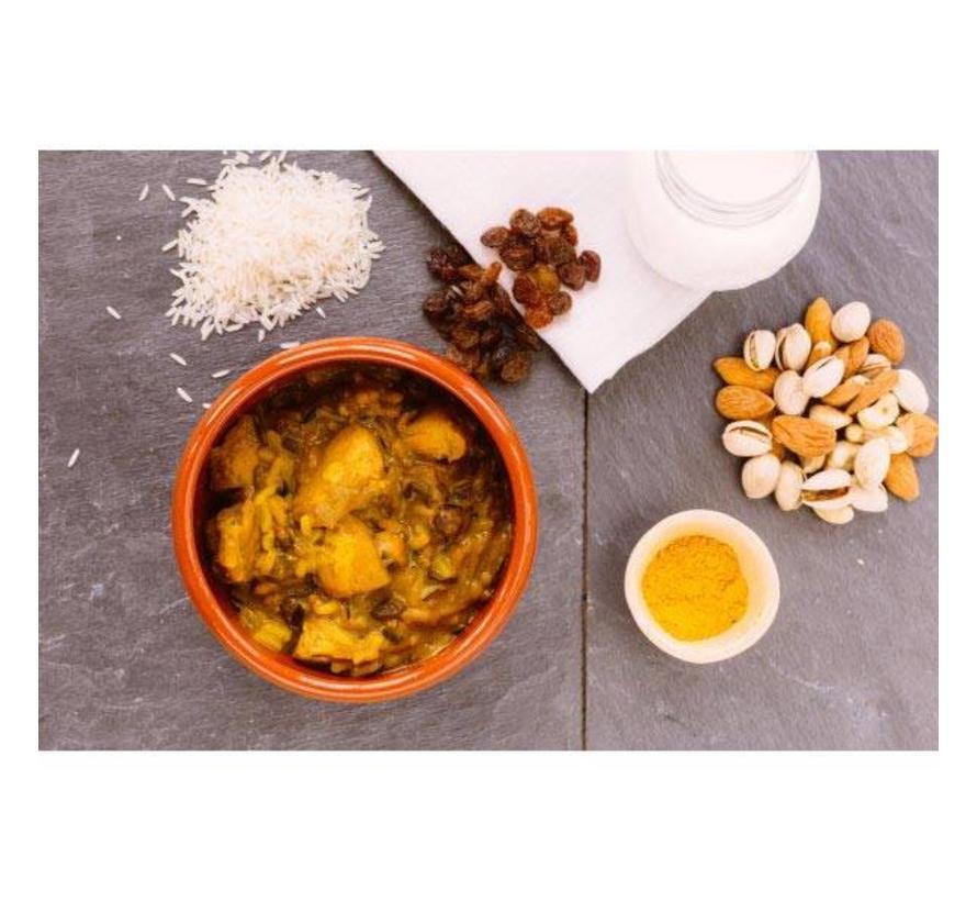 Forestia Self Heating maaltijd Chicken Madras (met warmtezak)