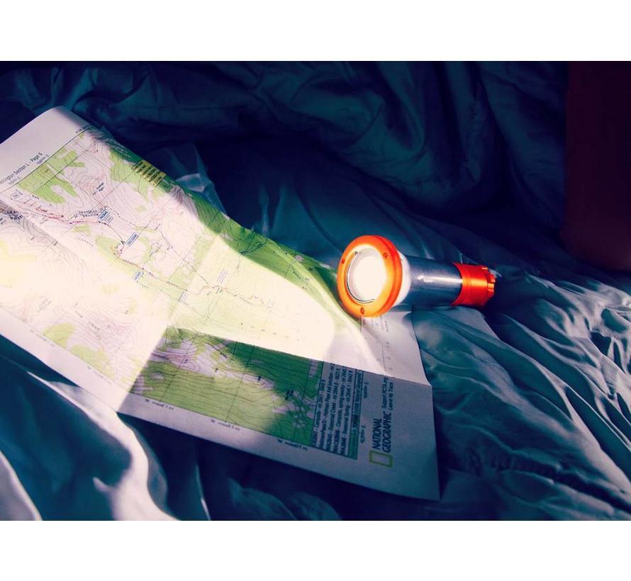 UCO Clarus 2.0 Lantaarn en zaklamp (oranje)
