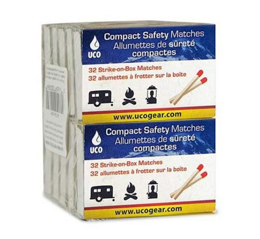 UCO Compact Safety Matches (10 doosjes)