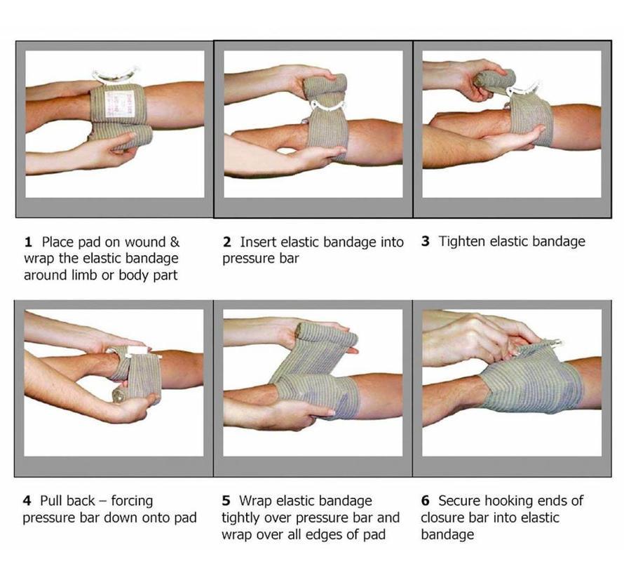 Traumazwachtel Emergency Bandage FCP03 (Israeli Bandage)