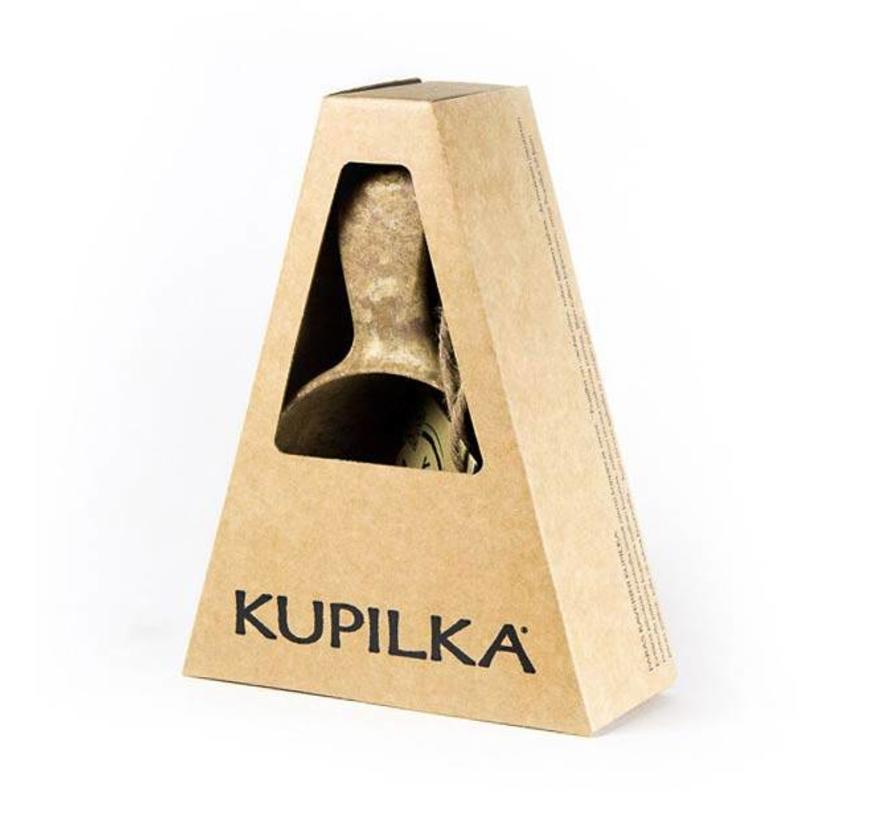 Kupilka Mok 21 met lepeltje (bruin)