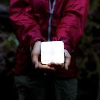 BioLite Sunlight Grey Lamp (met ingebouwd zonnepaneeltje)