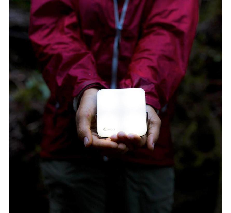 BioLite Sunlight Grey Lamp (met geïntegreerd zonnepaneeltje)