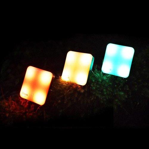 BioLite BioLite Sunlight Grey Lamp (met geïntegreerd zonnepaneeltje)