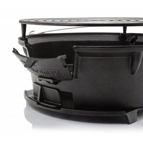 Petromax Petromax Barbecue Grill Kooktoestel TG3 (gietijzer)