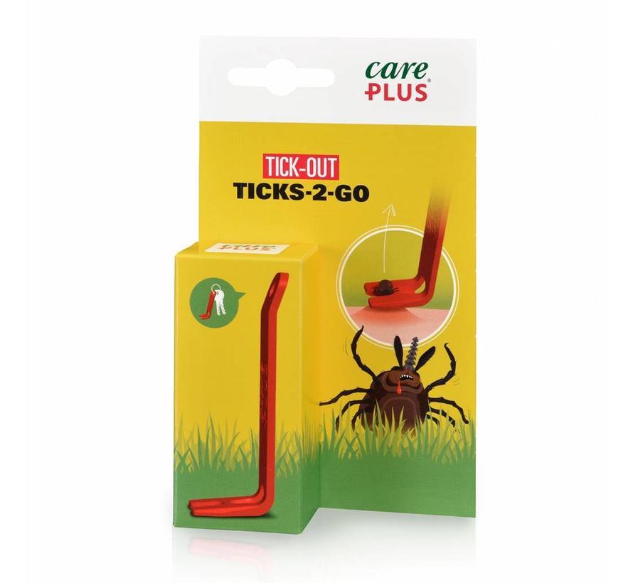Care Plus Tekentang Tick-Out Ticks-2-Go