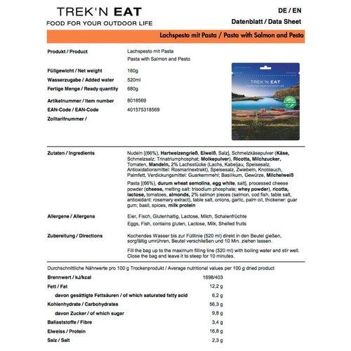 Katadyn Trek'n Eat Pasta met Zalm en Pesto
