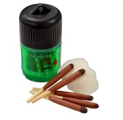 BCB Bushcraft BCB Wind- and Waterproof Matches in koker (25 stuks survival lucifers)