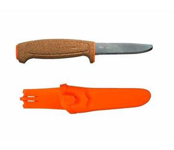 Mora messen (Morakniv) Mora Floating Serrated Knife (RVS - gekarteld vissersmes)