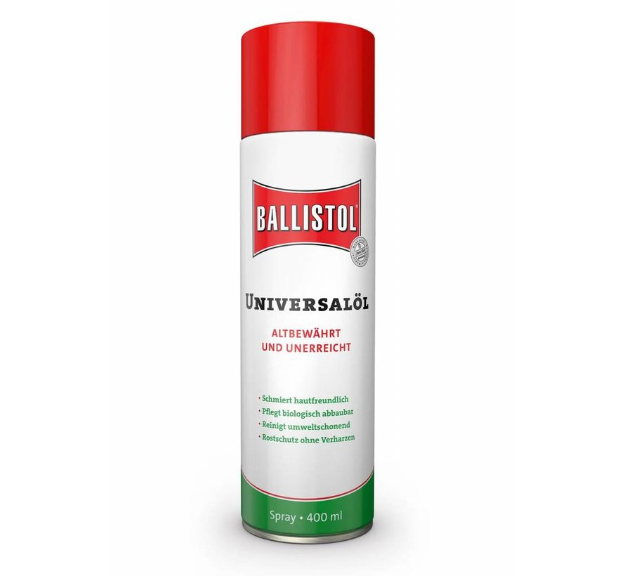 Ballistol Universeel-olie (spuitbus onderhoudsolie 400 ml)