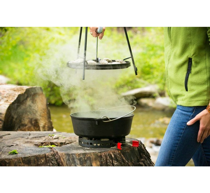 Petromax Campmaid Pro-FT Combo-Pack (3-delige BBQ-Grill-Dutch Oven kookplaats)