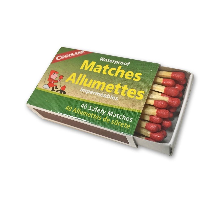Coghlan's Waterproof Matches (watervaste lucifers) 10 doosjes