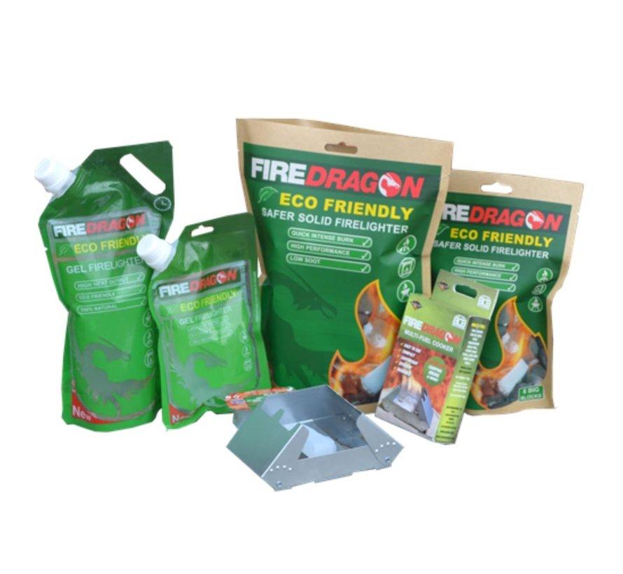 Firedragon Solid Fuel Brandstofblokjes (12 stuks voordeelverpakking)